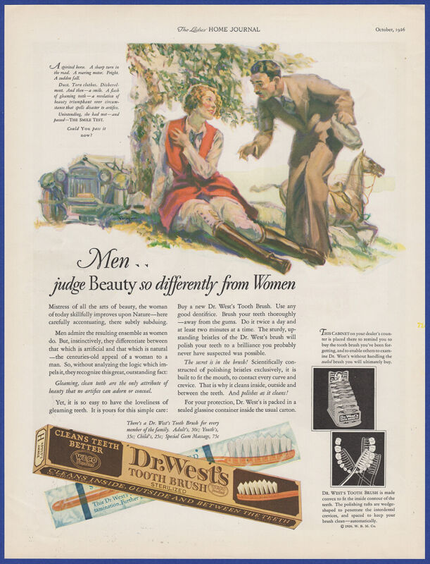 Vintage 1926 DR. WEST