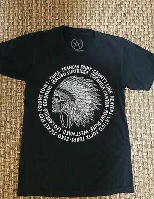 LOCAL AUTHORITY Black T shirt Mens Unisex S Preowned