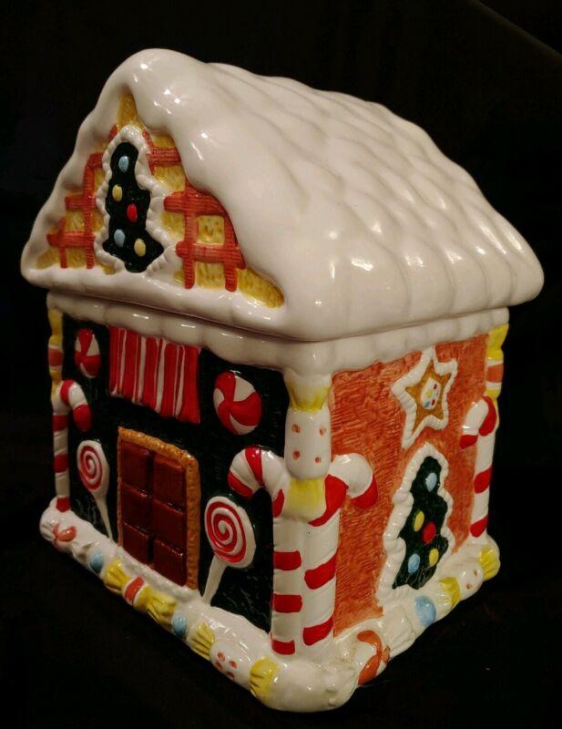 Ginger Bread House Cookie Jar