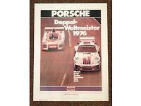 A3 PORSCHE 1976 935 MARTINI ADVERT POSTER BROCHURE PICTURE ART PRINT