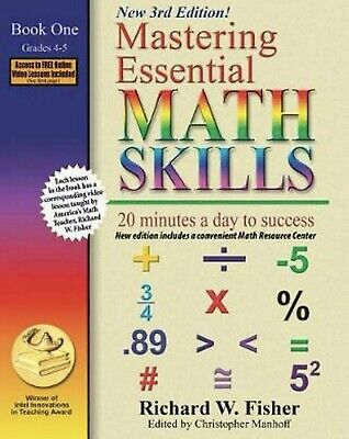 Mastering Essential Math Skills, Book 1: Grades 4 and 5: 20 Minutes a Day to Suc