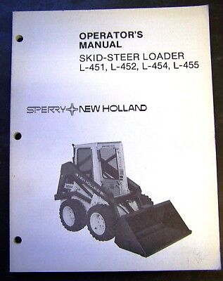 New Holland 451 | Owner's Guide to Business and Industrial Equipment