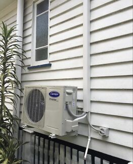 Split system airconditioners supply and install from $1080