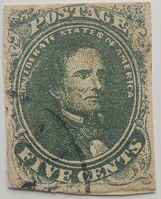 US CSA Confederate Stamps - You grade them.