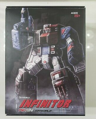 Transformer 3rd Party Toyworld TW-H04G Infinitor AKA Fortress Maximus Complete!!