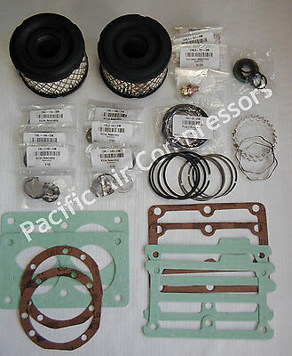 Emglo Jenny Dewalt Wu101g 610-1299 Valve Set Tune Up Kit W Valve Assemblies