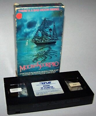 Vintage 1987 Moon In Scorpio Vhs Video Cassette Trans World Entertainment   Rare