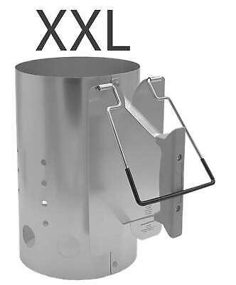 XXL Grillkohleanzünder Anzündkamin Grillstarter Kohlestarter Grillanzünder