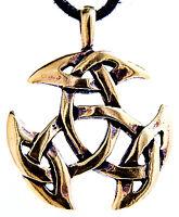 N° 82: Nudo Celta Colgante Cadena Celta Nudos Celta Bronce Amuleto -  - ebay.es