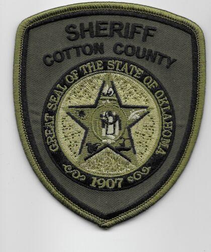 SWAT SRT Subdued Cotton County Sheriff State Oklahoma OK
