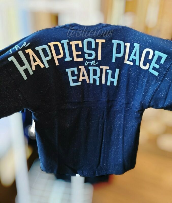 DISNEYLAND 65TH ANNIVERSARY HAPPIEST PLACE ON EARTH SPIRIT JERSEY *ALL SIZE*