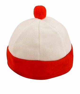 Jungen Mädchen Rot Weiß Hut Buch Figur - Jungen Buch Figur Kostüm