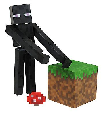Minecraft Core Enderman Action Figure With Accessory   New  Free Shipping