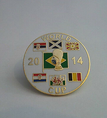 SCOTLAND WORLD CUP 2014 BRAZIL BADGE