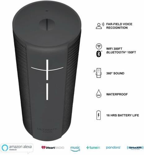 Ultimate Ears UE MEGABLAST Portable Waterproof Wi-Fi and Bluetooth Speaker