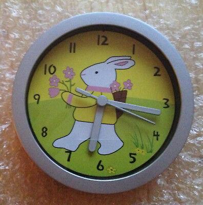 Orologio da parete coniglietto - coniglio - coniglietta - Nuovo con scatola!