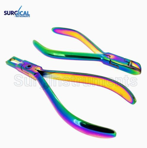 Orthodontic Hard Wire Cutter Bracket Remover Braces Galaxy Rainbow NEW