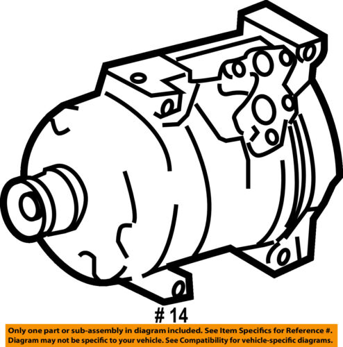 C Ac Compressor 883203570084