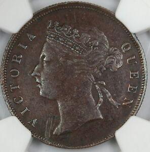 1897-Straits-Settlements-Cent-NGC-AU-Details-Obverse-Damage-UK-Penny