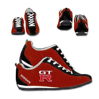 Neu Schuhe Nissan GTR Racing Bestickt Sport Shoes, Grosse 40-45 ()