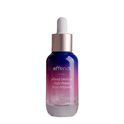 EFFENDI Derma+ Night Repair Rose Ampoule 1.01fl.oz / 30ml Anti-Aging K-Beauty