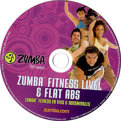 Zumba DVD 2 in 1 Live & Flat Abs mit OVP Fitness 100% Original Party