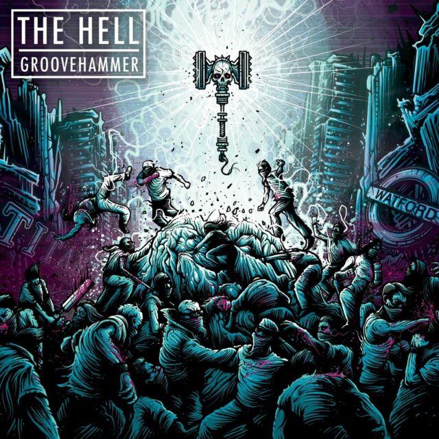 THE HELL - GROOVEHAMMER  VINYL LP  13 TRACKS HEAVY METAL  NEU