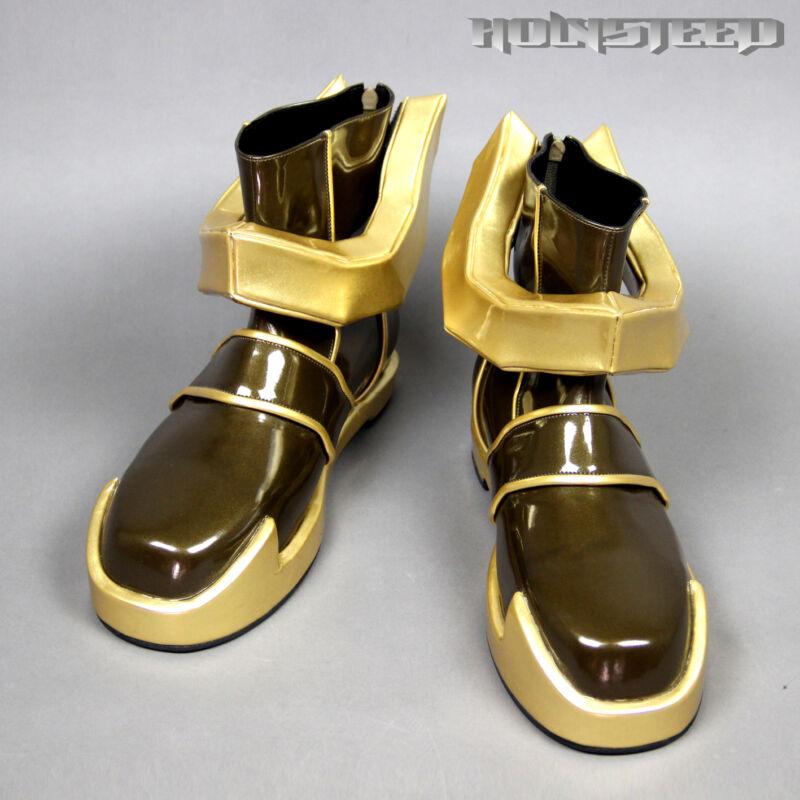 Kingdom Hearts birth by sleep Terra Cosplay Shoes Boots