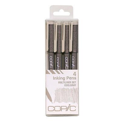 iliner Pens set Sketch Inking Pen Marker Marqueur Gray color (Inking Pens)
