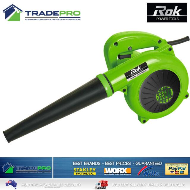 Blower Electric Portable Leaf Grass Garden Blower Genuine Rok® Hi-Torque 600w