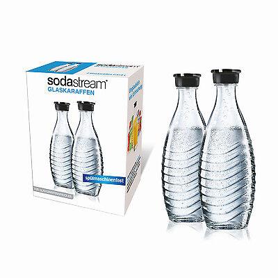 SodaStream Duopack Glaskaraffe für Penguin und Crystal 2x 0,6l Wassersprudler