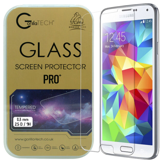 New 100% Genuine Gorilla Tempered Glass Film Screen Protector For Galaxy Note 3