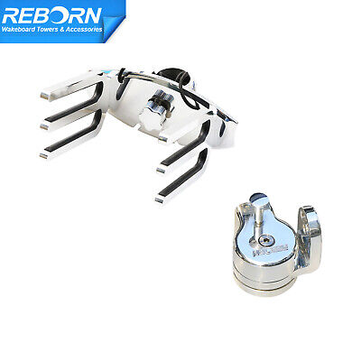 Reborn Quick Release Wakeboard Tower Rack + Rotating -