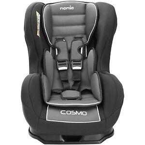 Nania Cosmo SP 0-4 YR Rear & Forward Facing Recliner Car Seat Agora Storm Grey