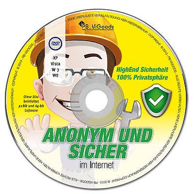 Anonym & Sicher im Internet✔ surfen mailen chatten✔ Live-CD/DVD✔ Version 2014✔