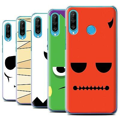 STUFF4 Back Case/Cover/Skin for Huawei P30 Lite 2019/Halloween Character ()
