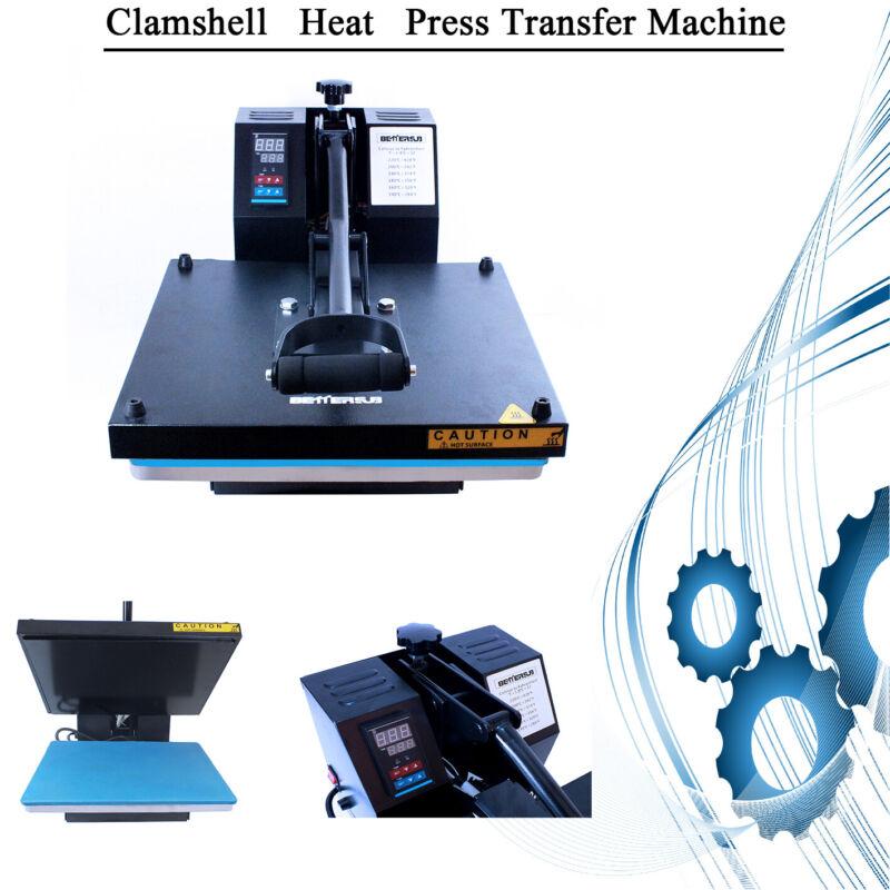 "DIY 15""X15"" Digital Clamshell T-shirt Heat Press Machine Sublimation Transfer"