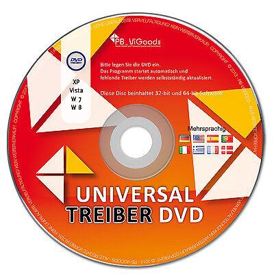 NEU: Universal Windows Treiber CD/DVD für Notebook & PC - Windows 7 / 8 / 10 /XP ()