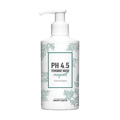 HAPPY BATH pH4.5 Hypoallergenic Feminine Wash Mugwort 250g Gel Type K-Beauty