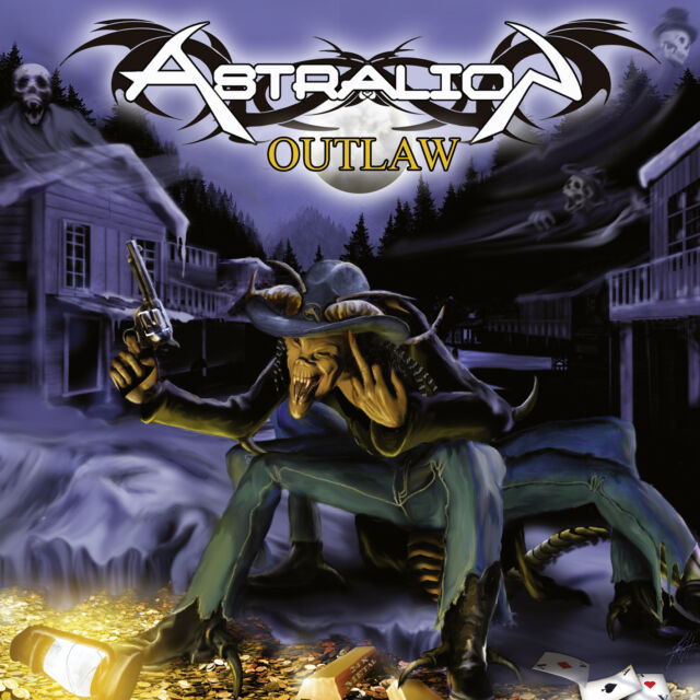 ASTRALION - Outlaw CD 2016 Power Metal Olympos Mons