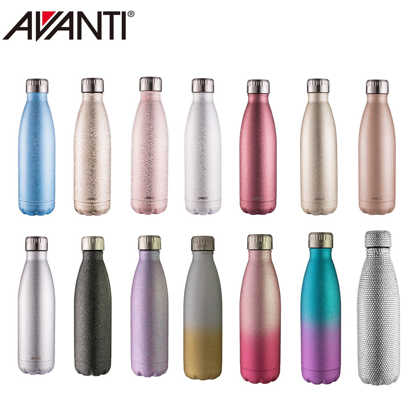 New Avanti Fluid Twin Wall Vacuum Water Bottle 500ml Stainle