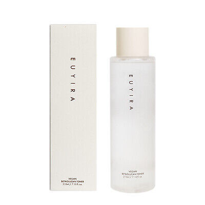 EUYIRA Vegan Betaglucan Toner 7.1oz /210ml Anti-Wrinkle,elasticity care K-beauty