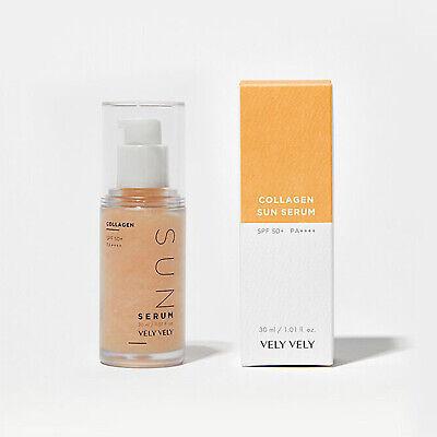 VELY VELY Collagen Sun Serum 1.01oz / 30ml Smart Triple Functional Sun Care