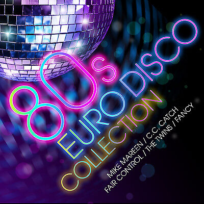 CD 80s Euro Disco Collection von Various Artists