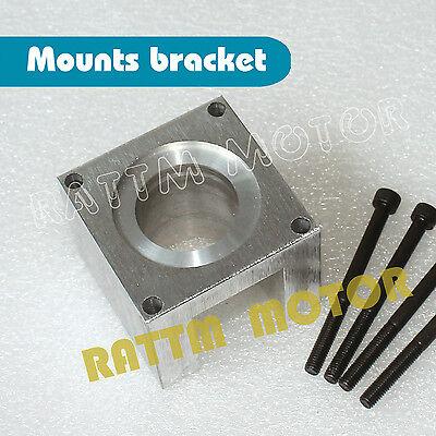 Motor Mount (NEW 57 Nema23 Schrittmotor Stepper Motor Mount Klammer Halterung für CNC Router)