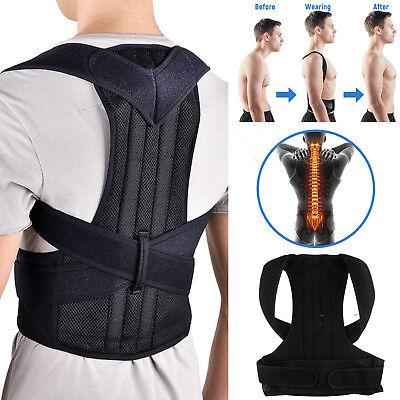 Posture Corrector Men Women Back Brace Shoulder Support Trainer For Pain Relief