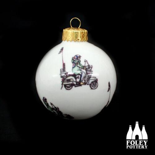 AWOL%3A+MOD%2C+Quadrophenia%2C+Vespa%2C+LML%2C+inspired+Christmas+Bauble+By+Foley+Pottery+