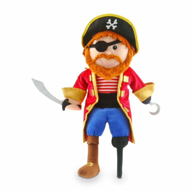 Tellatale Pirate Hand Puppet