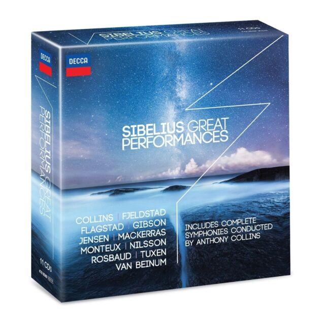 FLAGSTAD/NILSSON/COLLINS/ROSBAUD/+ - SIBELIUS: GREAT PERFORMANCES 11 CD NEU