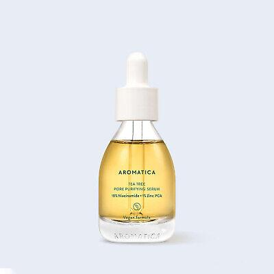 Aromatica Tea Tree Pore Purifying Serum 1.01oz 30ml Vegan K-Beauty Free Gift